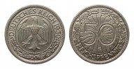 Weimarer Republik 50 Pfennig
