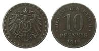 Ersatzmünzen 1. Weltkrieg 10 Pfennig