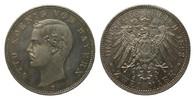 2 Mark Bayern 1893 D Kaiserreich  Bildseite wz. Kratzer, polierte Platte  325,00 EUR kostenloser Versand