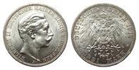 3 Mark Preussen 1912 A Kaiserreich  wz. Randfehler, Bildseite vz/St, Ad... 35,00 EUR  zzgl. 4,00 EUR Versand