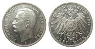 3 Mark Baden 1914 G Kaiserreich  wz. Rf., vz/St aus EA  65,00 EUR  zzgl. 4,00 EUR Versand