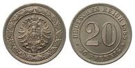 20 Pfennig 1888 E Kaiserreich  vorzüglich / Stempelglanz  80,00 EUR  zzgl. 4,00 EUR Versand
