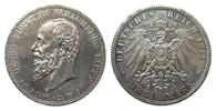 3 Mark Schaumburg-Lippe 1911 A Kaiserreich  min. berieben, polierte Pla... 295,00 EUR kostenloser Versand