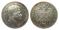 3 Mark Reuss älterer Linie 1909 A Kaiserreich  kl. Kratzer, polierte Pl... 850,00 EUR kostenloser Versand