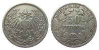 50 Pfennig 1903 A Kaiserreich  fast sehr schön  195,00 EUR  zzgl. 4,00 EUR Versand