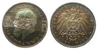 3 Mark Bayern Ludwig III 1914 D Kaiserreich  wz. Kr. u. Rf., polierte P... 245,00 EUR  zzgl. 4,00 EUR Versand