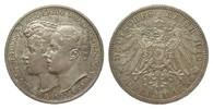3 Mark Sachsen-Weimar-Eisenach 1910 A Kaiserreich  wz. Randfehler, vorz... 80,00 EUR  zzgl. 4,00 EUR Versand