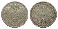 1 Mark 1894 G Kaiserreich  sehr schön  59,00 EUR  zzgl. 4,00 EUR Versand