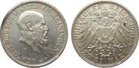 2 Mark Sachsen-Meiningen 1901 D Kaiserreich  wz. Kr. u. Rf., gutes vorz... 445,00 EUR kostenloser Versand