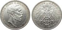 3 Mark Schwarzburg-Sondershausen 1909 A Kaiserreich  min. Randfehler, v... 135,00 EUR  zzgl. 4,00 EUR Versand