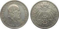 2 Mark Sachsen-Meiningen 1901 D Kaiserreich  sehr schön / vorzüglich  395,00 EUR kostenloser Versand