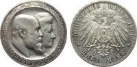 3 Mark Württemberg Silberhochzeit 1911 F Kaiserreich  l. berieben, vz+ ... 450,00 EUR kostenloser Versand