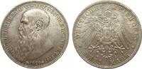 3 Mark Sachsen-Meiningen 1915 Kaiserreich  fast Stempelglanz  225,00 EUR  zzgl. 4,00 EUR Versand
