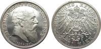 2 Mark Baden auf den Tod 1907 Kaiserreich  wz. Kr., fast Stempelglanz a... 85,00 EUR  zzgl. 4,00 EUR Versand