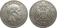 2 Mark Anhalt 1896 A Kaiserreich  sehr schön  365,00 EUR kostenloser Versand