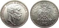 3 Mark Schwarzburg-Sondershausen 1909 A Kaiserreich  fast Stempelglanz  195,00 EUR  zzgl. 4,00 EUR Versand