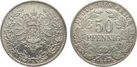 50 Pfennig 1877 B Kaiserreich  gutes vorzüglich  90,00 EUR  zzgl. 4,00 EUR Versand