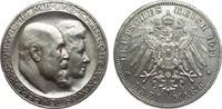 3 Mark Württemberg Silberhochzeit 1911 F Kaiserreich  besser als vorzüg... 450,00 EUR kostenloser Versand