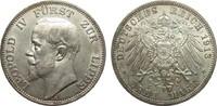 3 Mark Lippe 1913 A Kaiserreich  vz  /  vz+  495,00 EUR kostenloser Versand