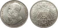 2 Mark Sachsen-Meiningen 1915 Kaiserreich  Bildseite wz. Kratzer, fast ... 230,00 EUR  zzgl. 4,00 EUR Versand