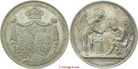 versilberte Bronzemedaille 1822 Deutschlan...