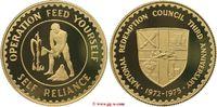 Goldmedaille 1975 Ghana Ghana  Republic Ri...