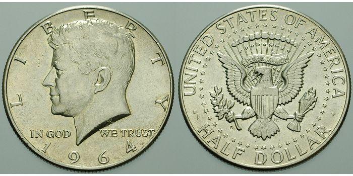 12 Dollar 1964 Philadelphia Usa 1 Todestag Von John F Kennedy