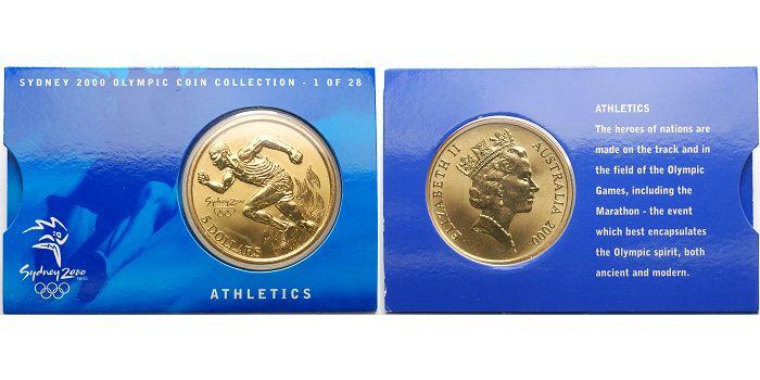 5 Dollar 2000 Australien Olympische Sommerspiele 2000 In Sydney