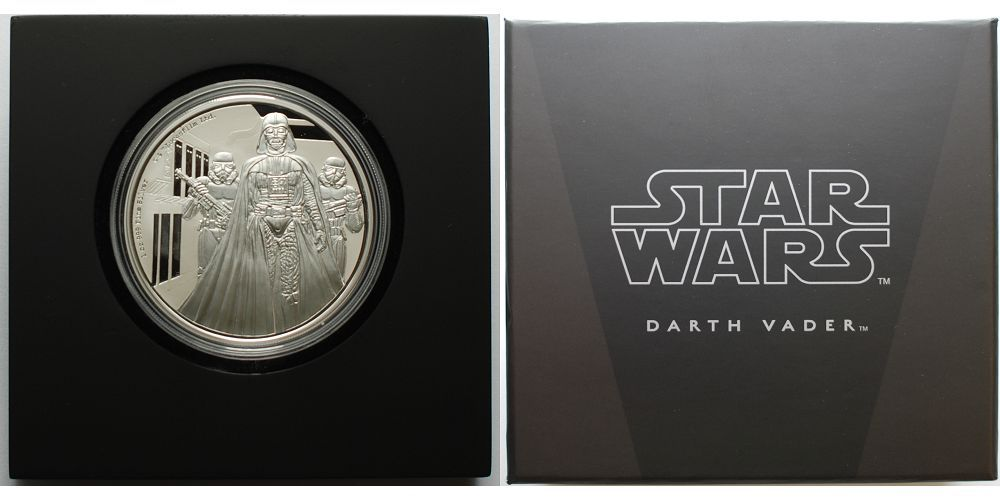 2 Dollar 2016 Niue Star Wars Darth Vader Filmstart 1617