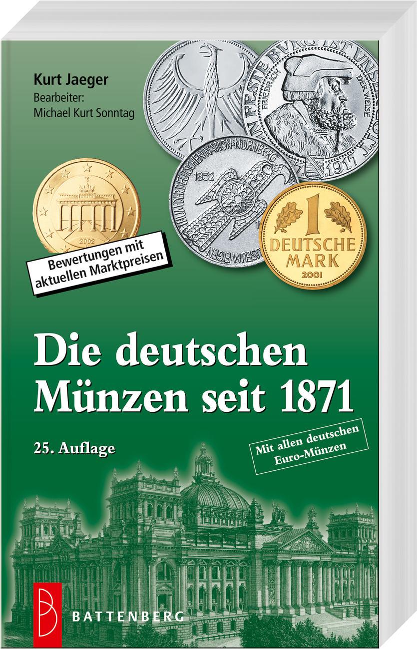 25 Auflage 20172018 Deutschland Münzkatalog Jaeger 25 Auflage