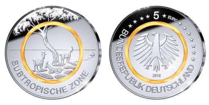5 Euro 2018 J Deutschland Subtropische Zonebrb Prägestätte J