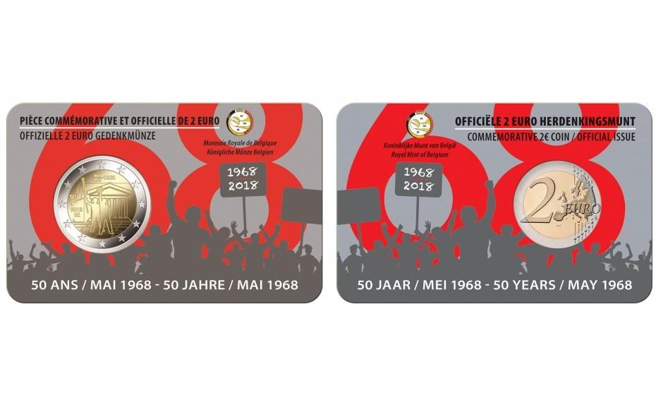 2 Euro 2018 Belgien Studentenrevolte Mai 1968 B Achtung Nur Im