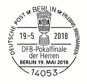 2 X 045 Cent 2 X 070 Cent Briefmarken 2018 Deutschland Dfb