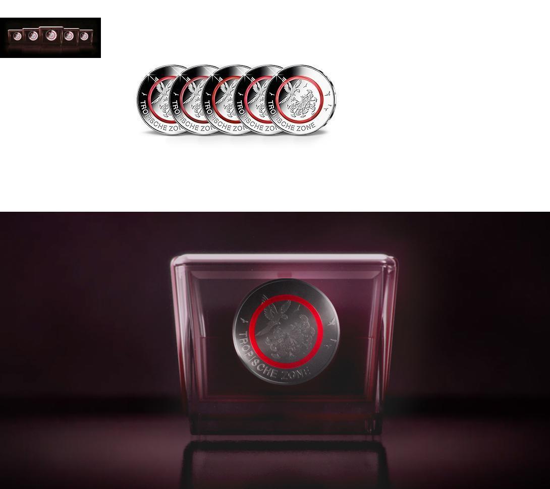 5 Euro X B10b Münzen 2017 A J 10 Münzen2 Sätze A J Original