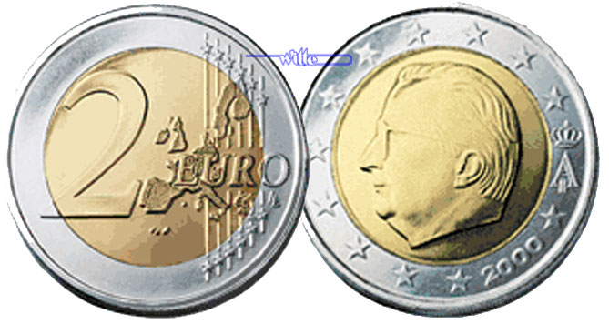 2 Euro 2005 Belgien Kursmünze 2 Euro Fdc Ma Shops