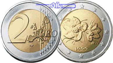 2 Euro 1999 Finnland Kursmünze 2 Euro Stgl Ma Shops