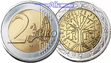 2 Euro 2001 Frankreich Kursmünze 2 Euro Stgl Ma Shops