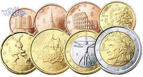 1 Cent 2 Euro 388 2006 Italien Kursmünzen Kompl Satz 2006 Fdc