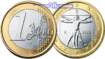 1 euro 2002 italien kursm nze 1 euro stgl ma shops. Black Bedroom Furniture Sets. Home Design Ideas