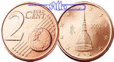 2 Cent 2002 Italien Kursmünze 2 Cent Stgl Ma Shops