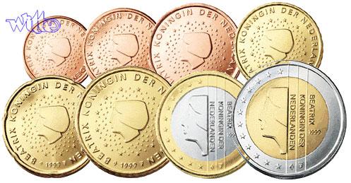1 Cent 2 Euro 388 2000 Niederlande Kursmünzen Kompl Satz 2000