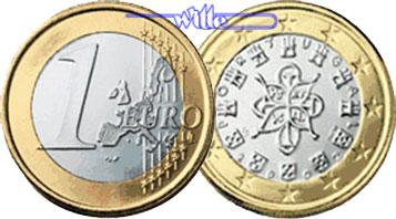 1 Euro 2002 Portugal Kursmünze 1 Euro Stgl Ma Shops