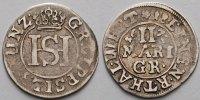 Lippe-Detmold Mariengroschen Simon Heinrich 1666 - 1697, Grafschaft, seit 1789 Fürstentum