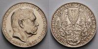 Deutschland 22,23g fein  36mm Ø Medaille / Probe, in Silber Paul von Hindenburg, K. Goetz - Medaille 1847-1927