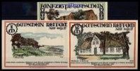 Keitum, Sylt 50 Pfg., 1Mk.2Mk. Grabowski 685.5