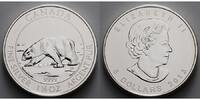Kanada 8 $ 1,5 oz. Serie - Polarbär, 1. Ausgabe