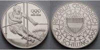 Österreich 200 Schilling 100 Jahre Olympische Spiele - Slalomläufer Th. Stangassinger- mit MDM Zertifikat