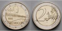 2 Euro 2016 Luxemburg Großherzogin Charlotte-Brücke  geringe Auflage, s... 5,50 EUR  zzgl. 3,95 EUR Versand