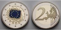 2 Euro 2015 Frankreich 2 Euro 30 Jahre Europäische Flagge  mit staatlic... 25,50 EUR  zzgl. 5,00 EUR Versand