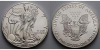 1 $ 2016 USA Silber Eagle stgl  27,50 EUR  zzgl. 5,00 EUR Versand